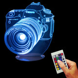 Camera Lens 3D LED LAMP -  - TheLedHeroes