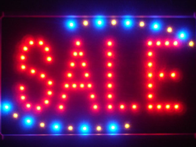 Sale Shop Discount LED Sign WhiteBoard -  - TheLedHeroes