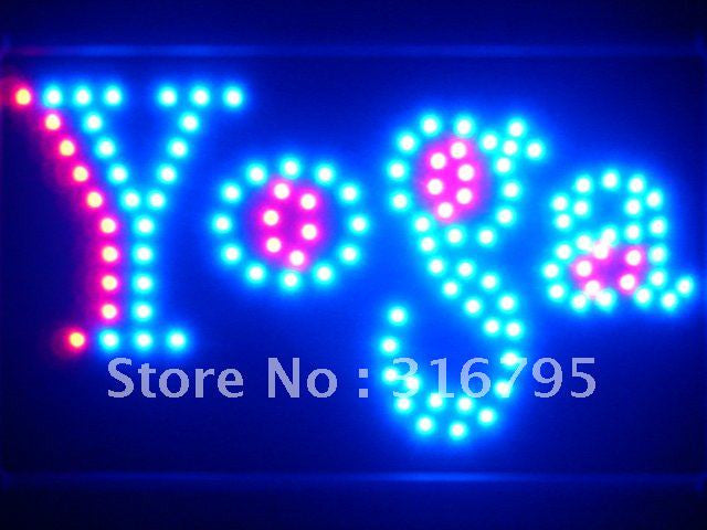 Yoga Center LED Sign WhiteBoard -  - TheLedHeroes