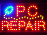 PC Repair LED Sign with Whiteboard -  - TheLedHeroes