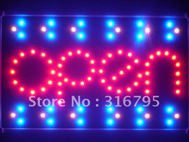 OPEN Shop Bar Beer Led Sign WhiteBoard -  - TheLedHeroes
