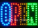 OPEN 4 Colors LED Business Sign -  - TheLedHeroes