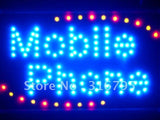 Mobile Phone Shop LED Sign WhiteBoard -  - TheLedHeroes
