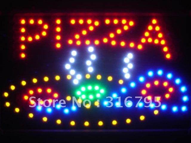 Pizza Shop LED Sign WhiteBoard -  - TheLedHeroes
