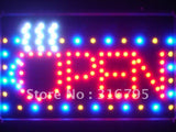 OPEN Coffee Cup LED Sign Whiteboard -  - TheLedHeroes