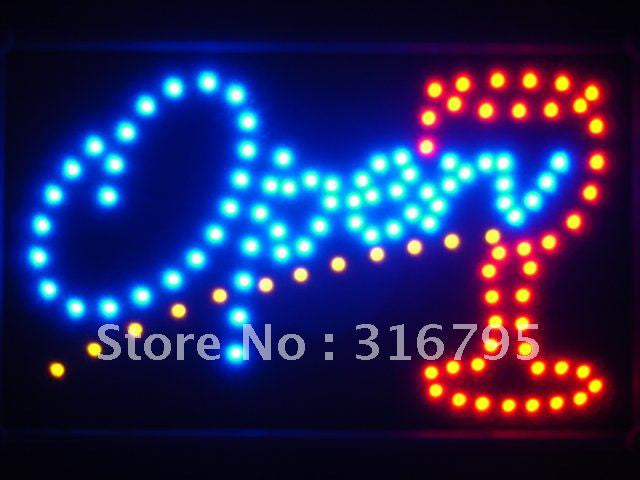 OPEN Cocktail LED Sign Whiteboard -  - TheLedHeroes