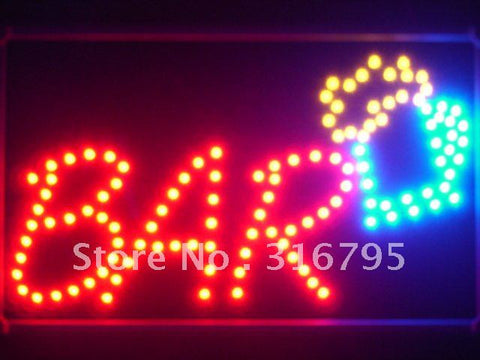 Bar Beer Cup LED Sign Whiteboard