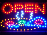 Pizza Shop OPEN Cafe Led Sign WhiteBoard -  - TheLedHeroes