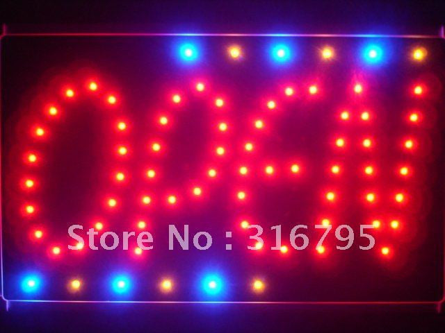 OPEN NEW Style Led Sign WhiteBoard -  - TheLedHeroes