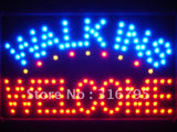 Walk Ins Welcome LED Sign WhiteBoard -  - TheLedHeroes
