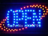 FREE Classic OPEN Business Led Sign WhiteBoard -  - TheLedHeroes