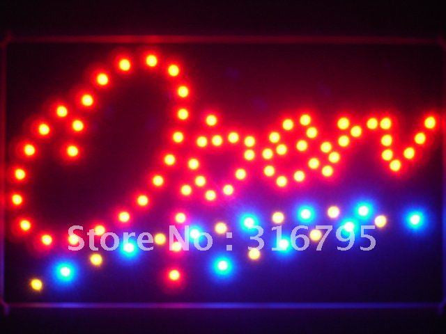 OPEN Script LED Sign Whiteboard -  - TheLedHeroes