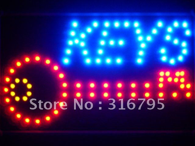 Keys Shop LED Sign WhiteBoard -  - TheLedHeroes