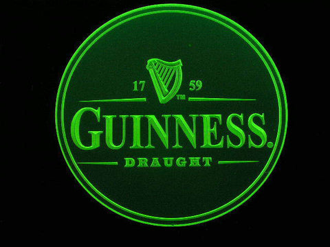 10x Guinness Acrylic Coasters -  - TheLedHeroes