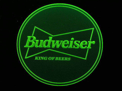 10x Budweiser King Coasters -  - TheLedHeroes