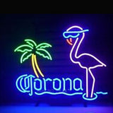 Corona Extra Flamingo Neon Bulbs Sign 17X14