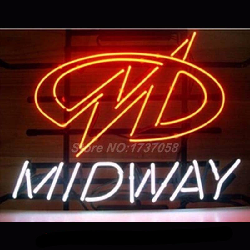 Midway Neon Bulbs Sign17*14 -  - TheLedHeroes