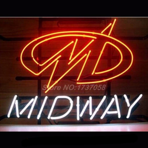 Midway Neon Bulbs Sign17*14