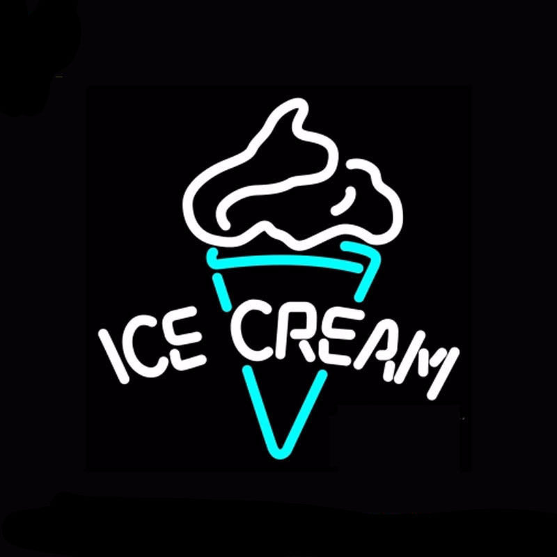 Ice Cream Neon Bulbs Sign 17x17 -  - TheLedHeroes