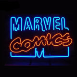 Marvel Comics Blue/Orange Neon Bulbs Sign 17x14 -  - TheLedHeroes