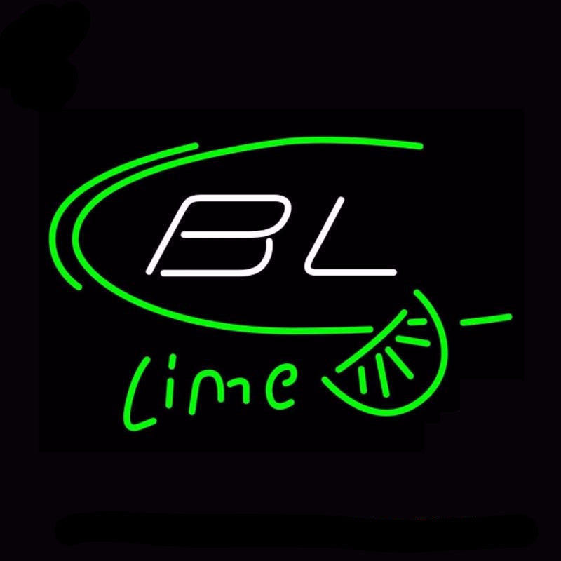 Bud Light Bl Lime Beer Neon Bulbs Sign 17x14 -  - TheLedHeroes