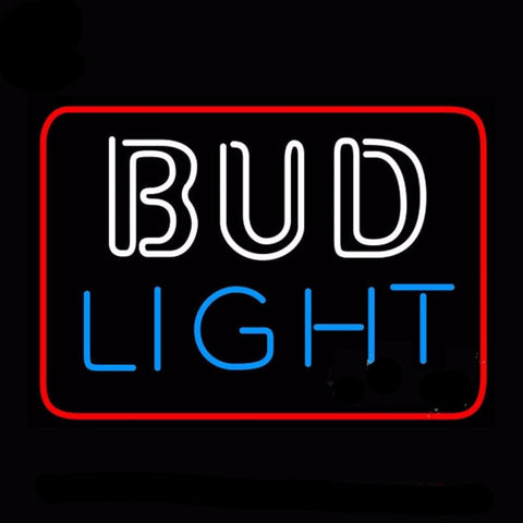 Bud Light 2 Neon Bulbs Sign 17x14 -  - TheLedHeroes