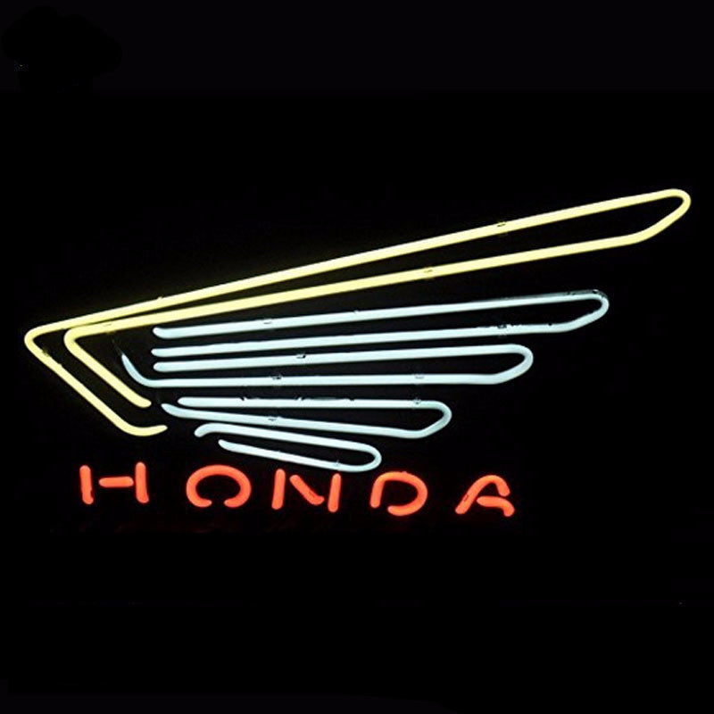 Honda Neon Bulbs Sign 19x15 -  - TheLedHeroes