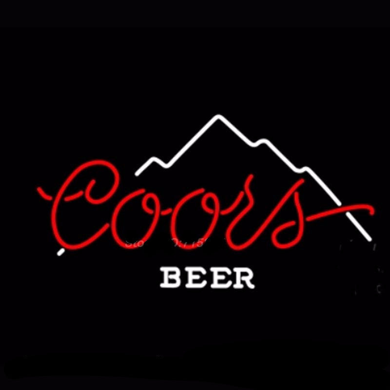 Coors Beer Mountain Neon Bulbs Sign 17x14 -  - TheLedHeroes