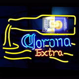 Corona Extra Sign Neon Bulbs Sign 19x15