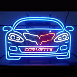 Corvettee C6 Neon Bulbs Sign 17x26 -  - TheLedHeroes
