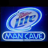 Miller Lite Man Cave Neon Bulbs Sign 24x20 -  - TheLedHeroes