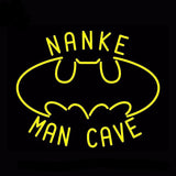 Nanke Mancave Batman Neon Bulbs Sign 17x14 -  - TheLedHeroes
