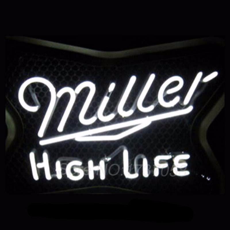 Miller High Life Neon Bulbs Sign 17x14 -  - TheLedHeroes