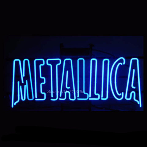 Metallica Neon Bulbs Sign 17x14 -  - TheLedHeroes