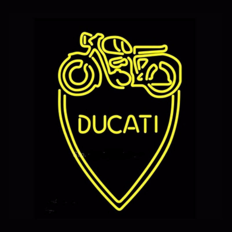 Ducati Mechanic Neon Bulbs Sign 19x15 -  - TheLedHeroes