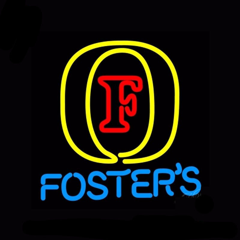 Fosters Neon Bulbs Sign 16x16 -  - TheLedHeroes