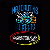 New Orleans Hornets Amstel Beer Neon Bulbs Sign 24x31 -  - TheLedHeroes