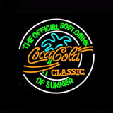 CocaCola Classic Neon Bulbs Sign 24x24