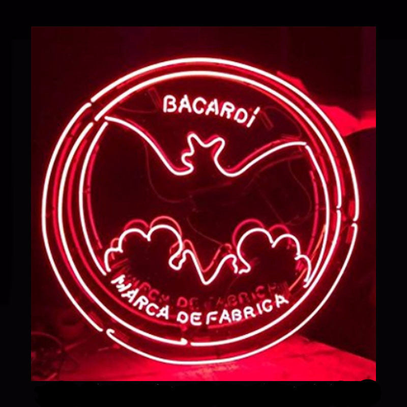 Bacardi 2 Neon Bulbs Sign 24x24 -  - TheLedHeroes