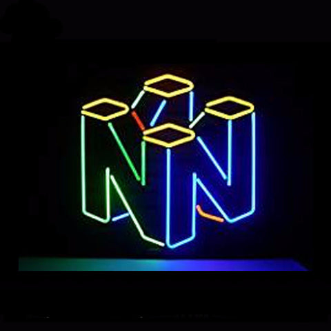 Nintendo Neon Bulbs Sign 17x14 -  - TheLedHeroes