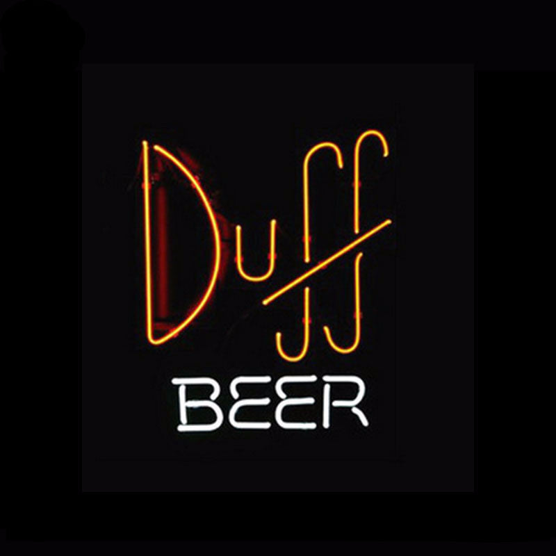 Duff Beer Neon Bulbs Sign 17x14 -  - TheLedHeroes