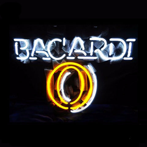 Bacardi Neon Bulbs Sign 17x14 -  - TheLedHeroes
