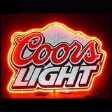 Coors Light Neon Bulbs Sign 17x14 -  - TheLedHeroes