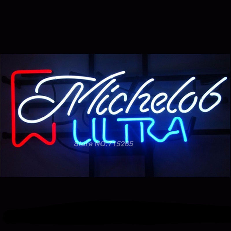 Michelob Ultra Neon Bulbs Sign 19x13 -  - TheLedHeroes