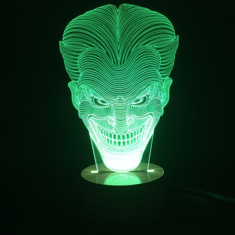 The Joker 3D LED LAMP -  - TheLedHeroes