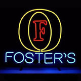 Foster's Logo Neon Bulbs Sign 19x15 -  - TheLedHeroes