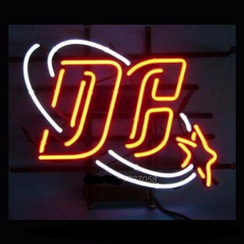 Dc Comics 75th Anniversary Neon Bulbs Sign 17X14 -  - TheLedHeroes