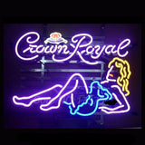 Crown Royal Neon Bulbs Sign 19x15 -  - TheLedHeroes