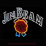 Jim Beam Neon Bulbs Sign 19x15 -  - TheLedHeroes