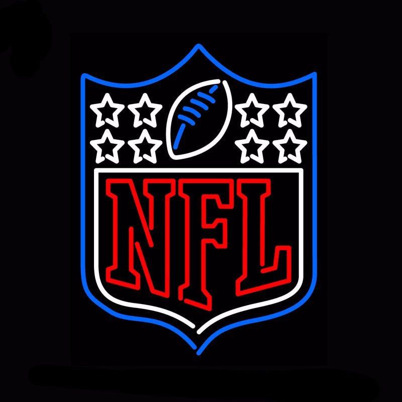 NFL Logo Neon Bulbs Sign 30x24 -  - TheLedHeroes